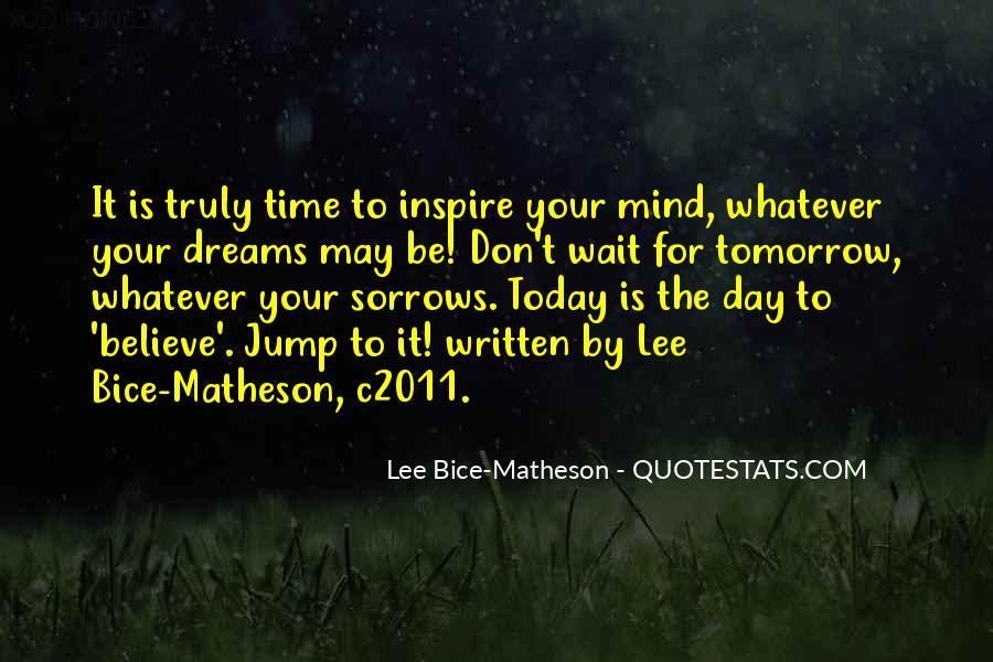 Wait Until Tomorrow Quotes #504017