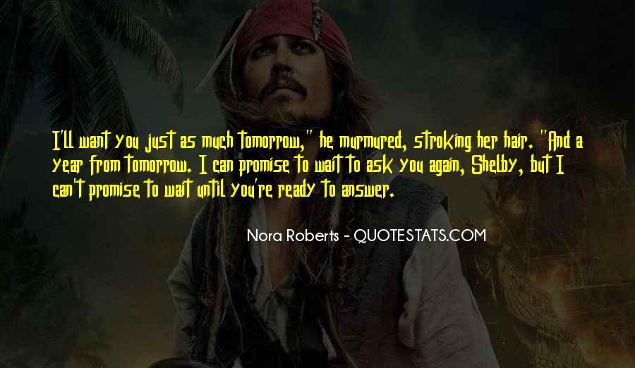 Wait Until Tomorrow Quotes #506669