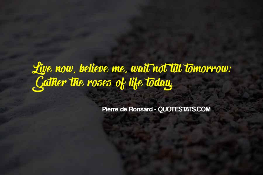 Wait Until Tomorrow Quotes #783829