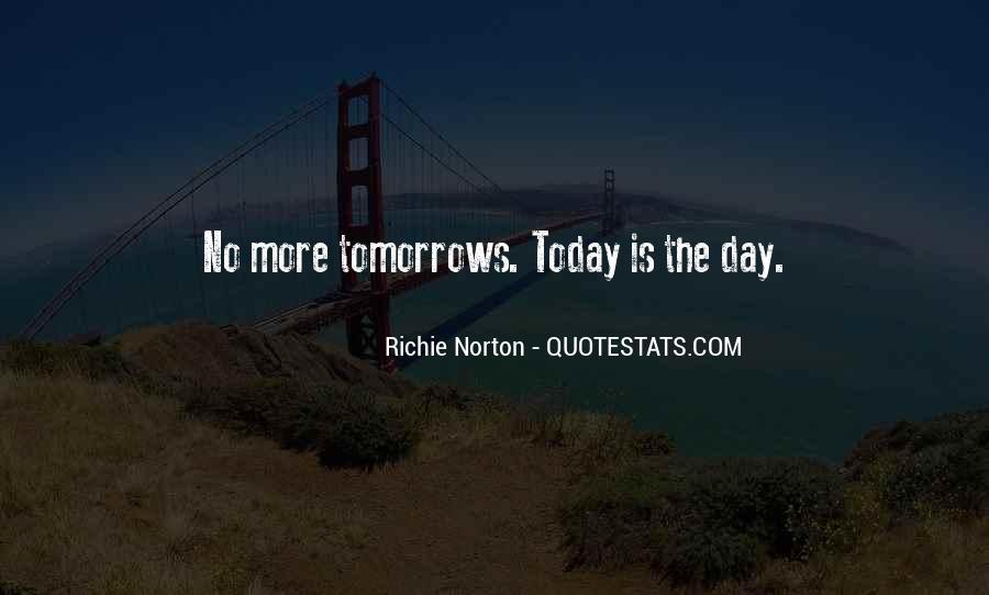 Wait Until Tomorrow Quotes #997054