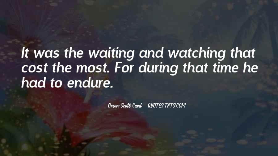Waiting 4 You Quotes #25805