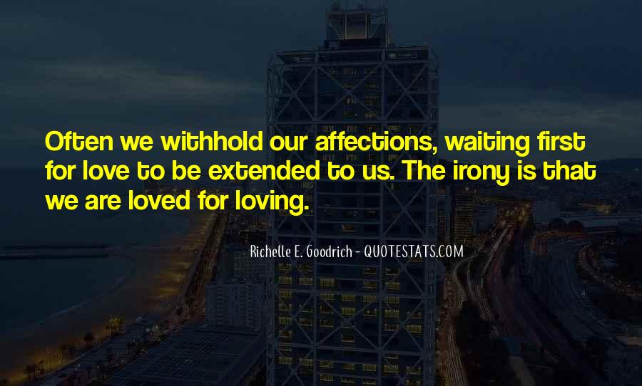 Waiting 4 You Quotes #4812