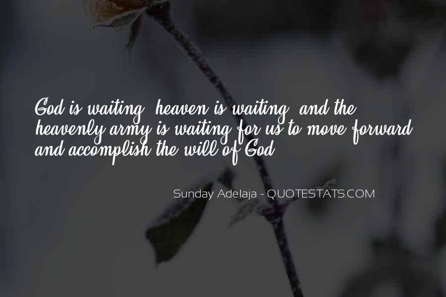 Waiting For God Quotes #18580