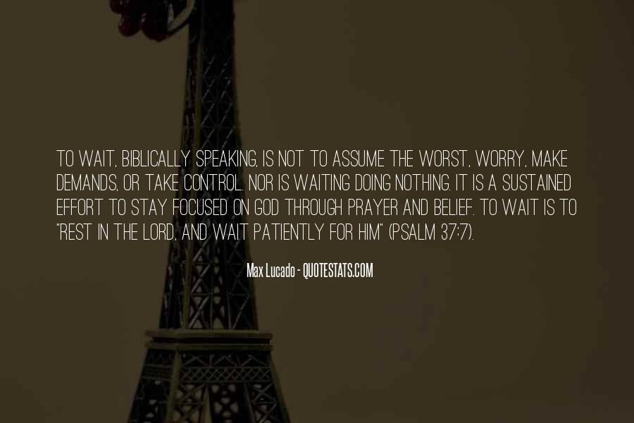 Waiting For God Quotes #188906