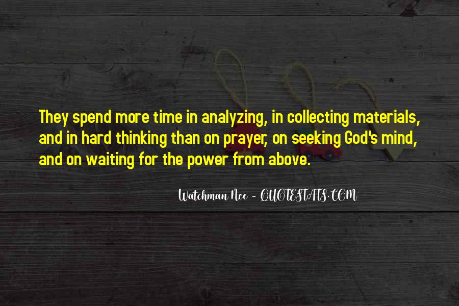 Waiting For God Quotes #190517