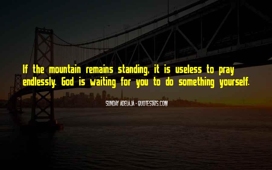 Waiting For God Quotes #214817