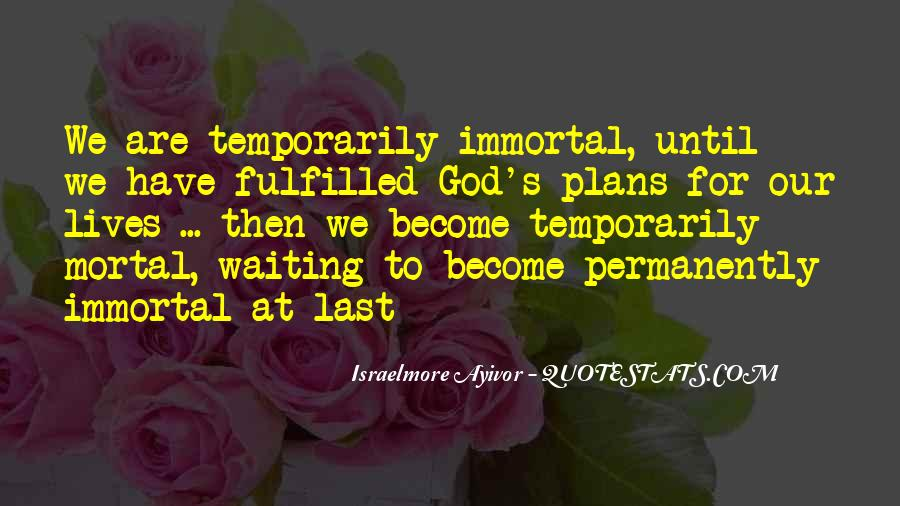 Waiting For God Quotes #345331