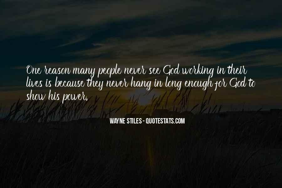 Waiting For God Quotes #363044
