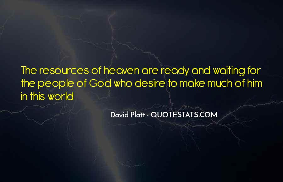 Waiting For God Quotes #371921
