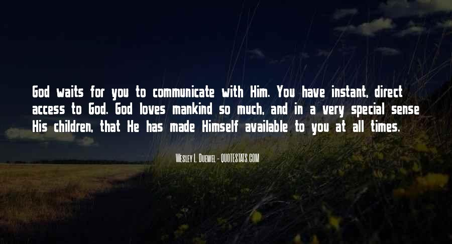 Waiting For God Quotes #590952
