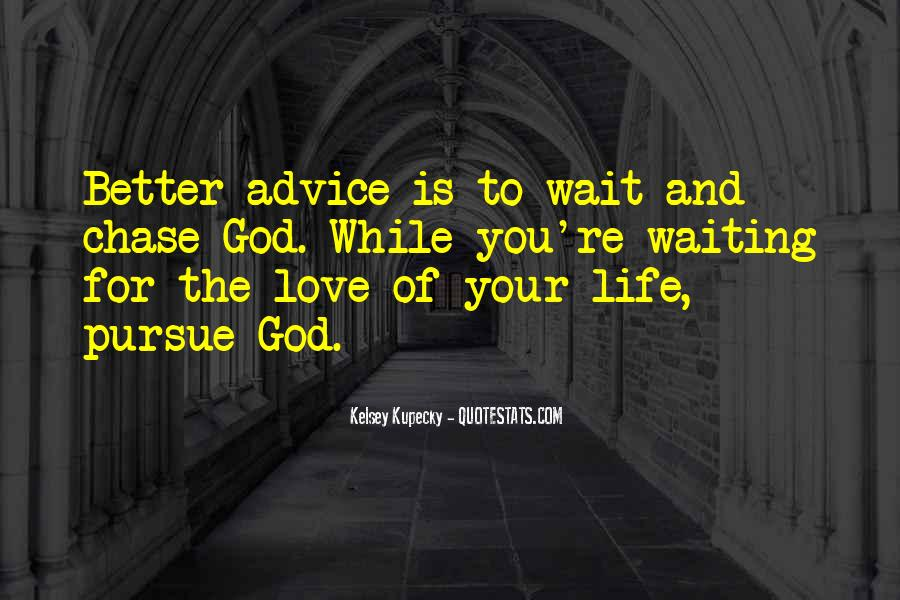 Waiting For God Quotes #780201