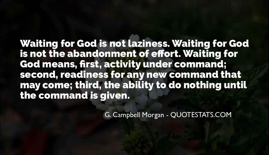 Waiting For God Quotes #846872