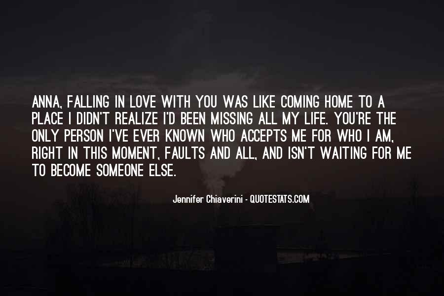 Waiting For Right Love Quotes #1472611