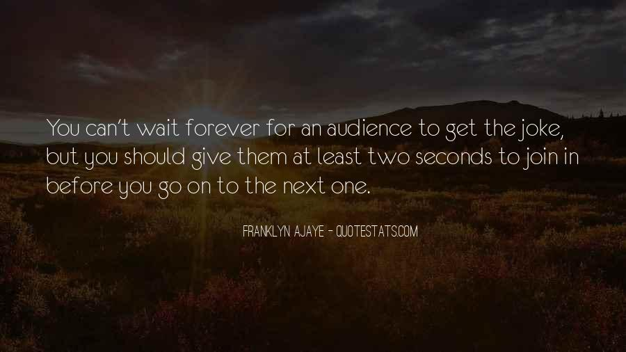 Waiting For You Forever Quotes #1753949
