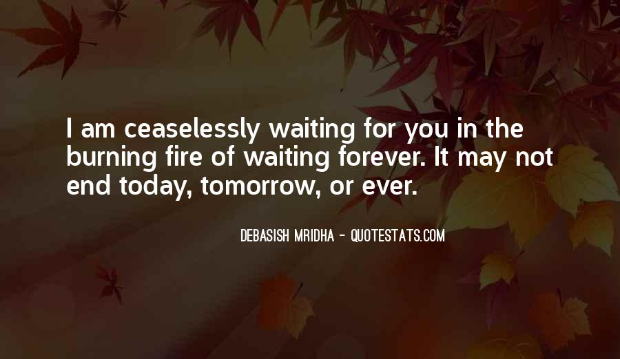 Waiting For You Forever Quotes #300863