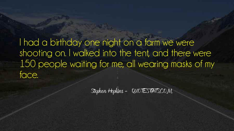 Waiting My Birthday Quotes #1832952