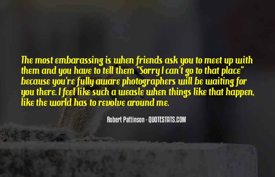 Waiting To Meet Friends Quotes #1791134