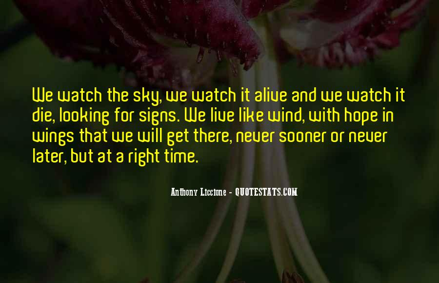 Waiting With Hope Quotes #1416421