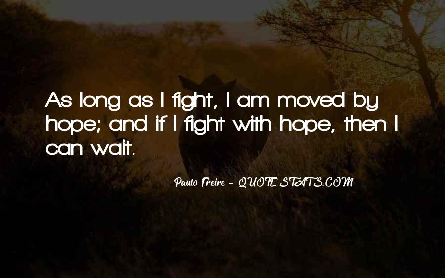 Waiting With Hope Quotes #1767380