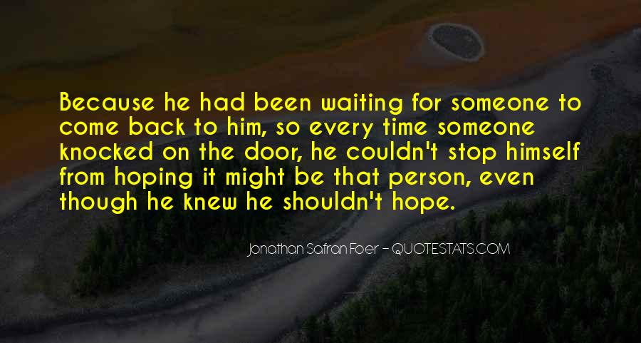 Waiting With Hope Quotes #185735