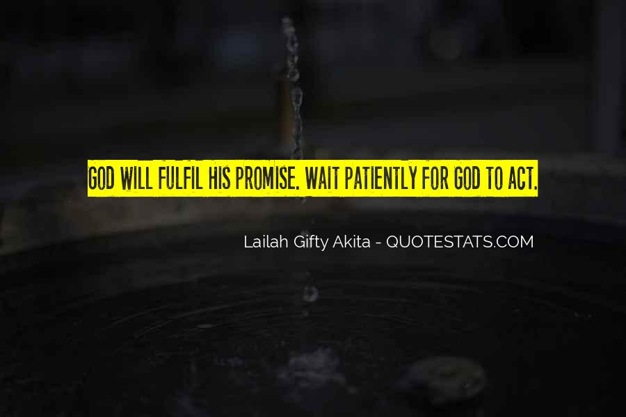 Waiting With Hope Quotes #236655