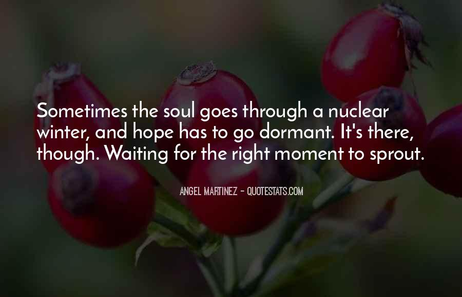 Waiting With Hope Quotes #352784