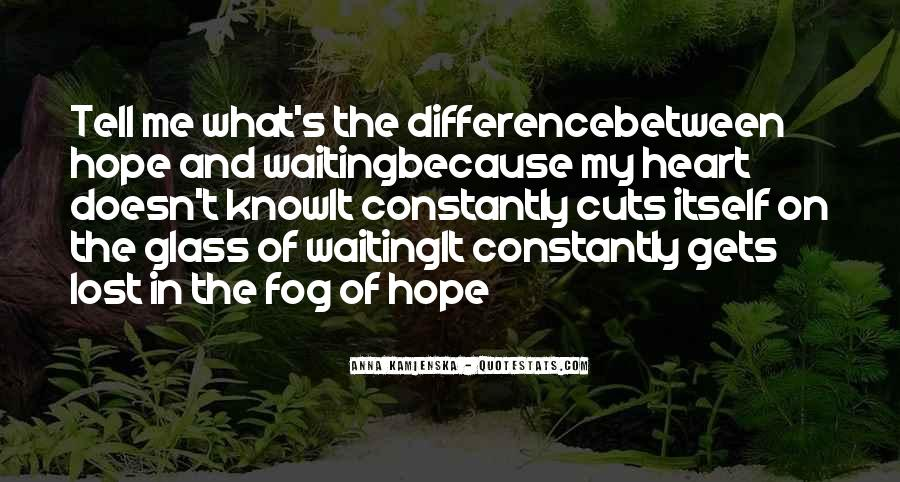 Waiting With Hope Quotes #394016