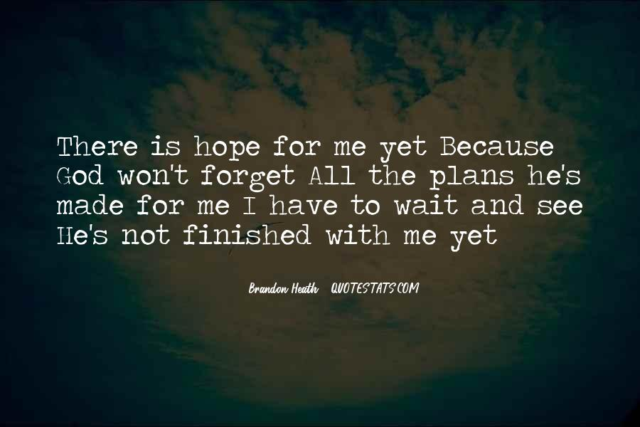 Waiting With Hope Quotes #433462