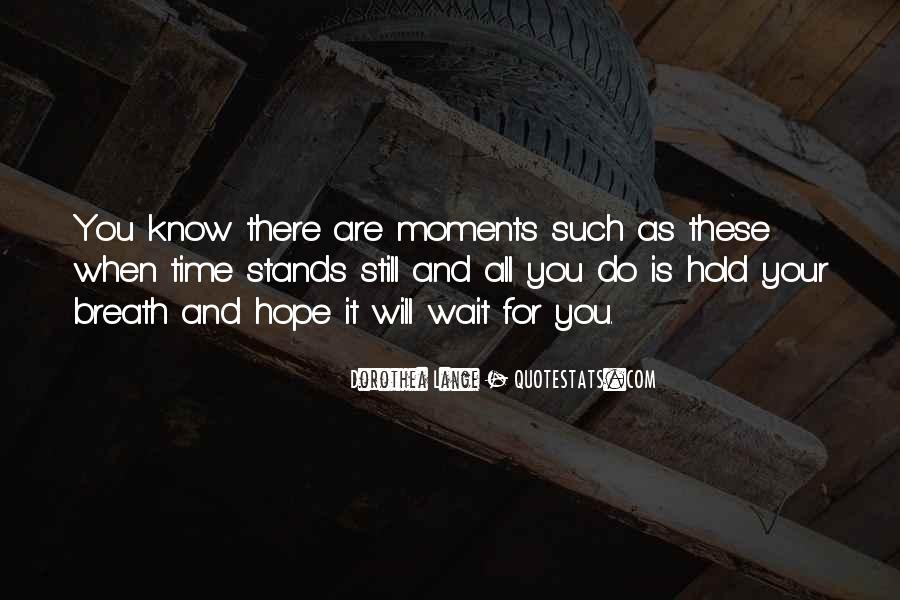 Waiting With Hope Quotes #540072