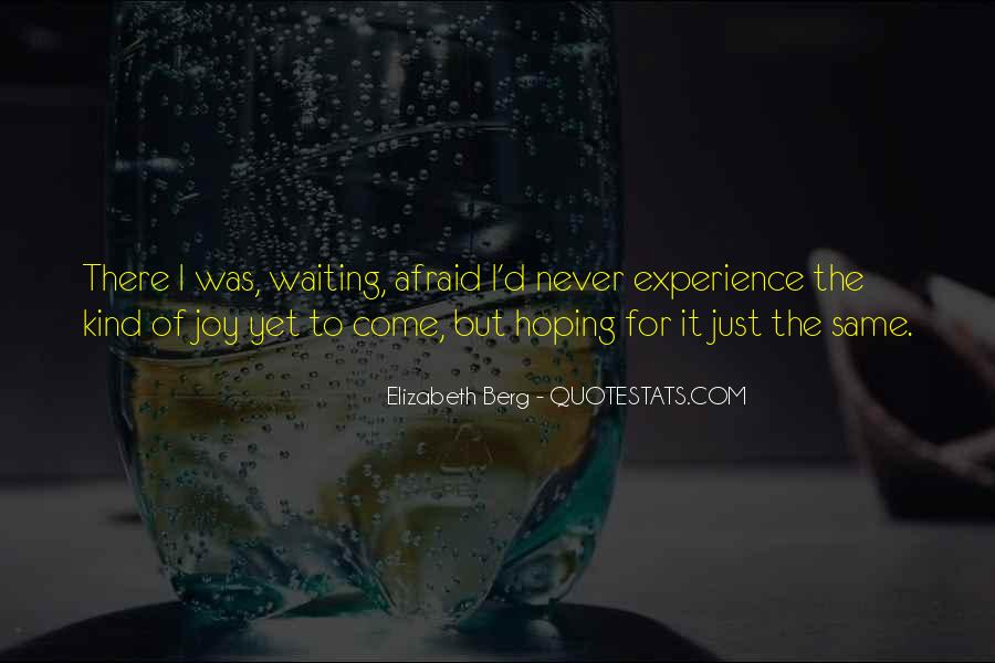 Waiting With Hope Quotes #630781