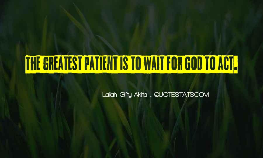 Waiting With Hope Quotes #633285