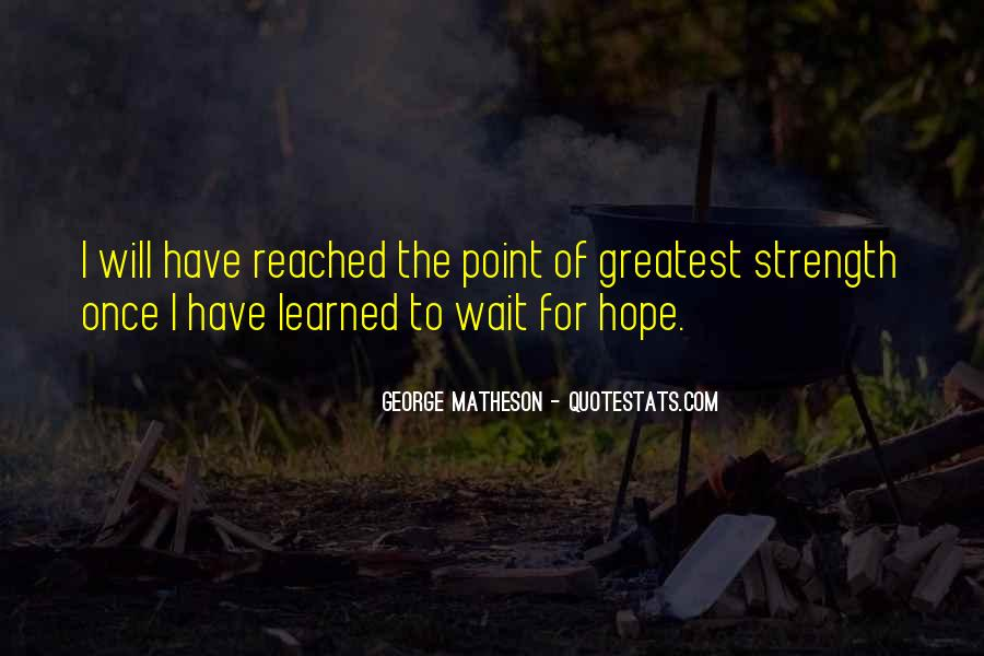 Waiting With Hope Quotes #719093