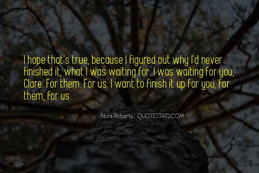 Waiting With Hope Quotes #780969