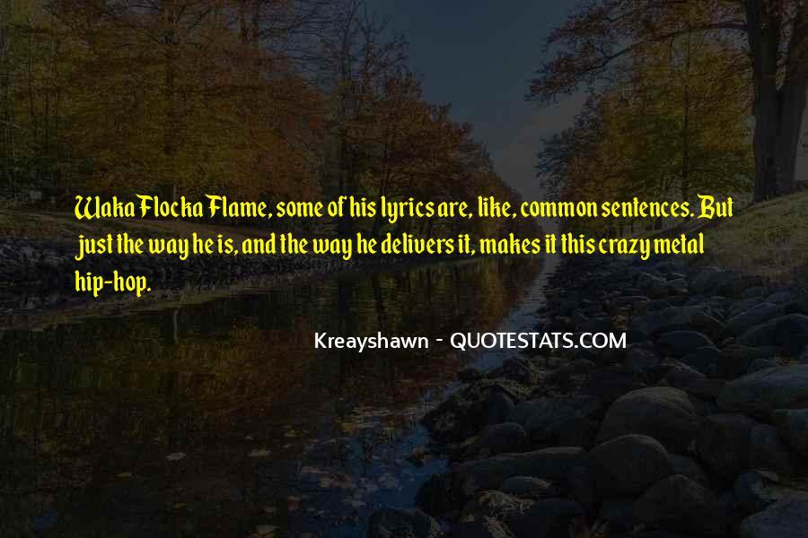 Waka Waka Quotes #1074630