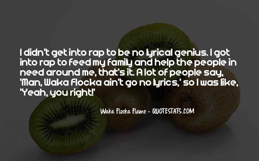 Waka Waka Quotes #1726815