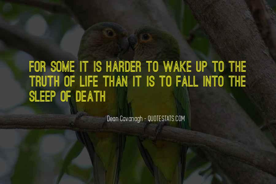 Wake Up Life Quotes #146303