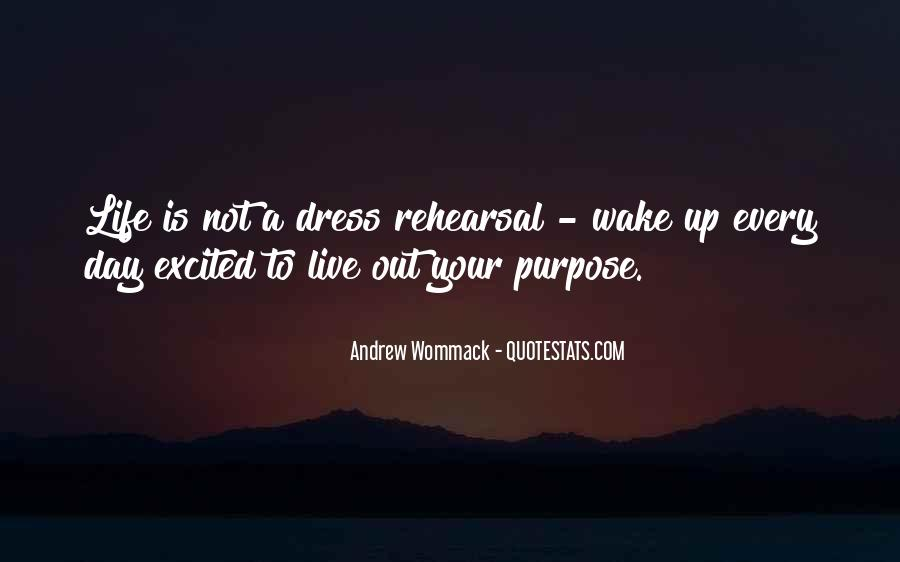 Wake Up Life Quotes #152824