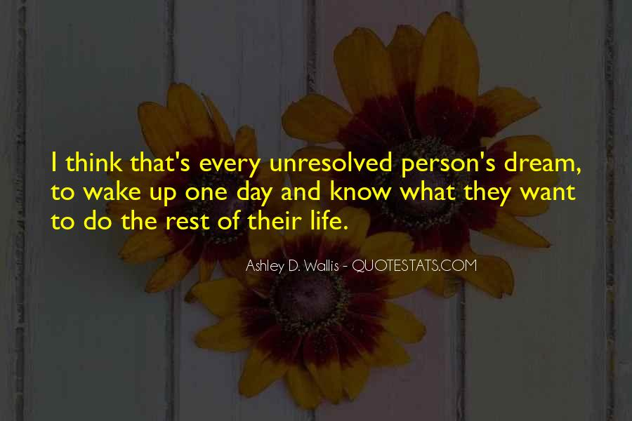 Wake Up Life Quotes #41139