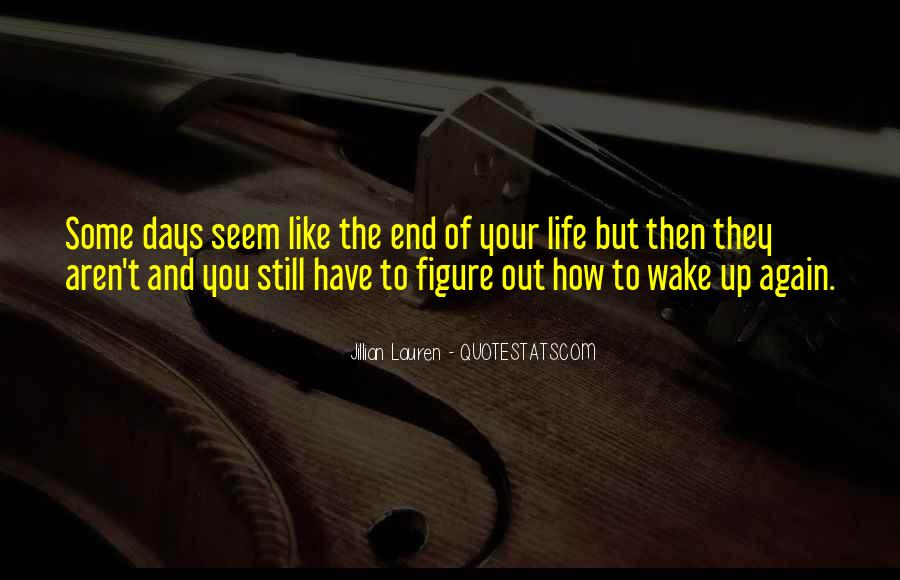 Wake Up Life Quotes #68803