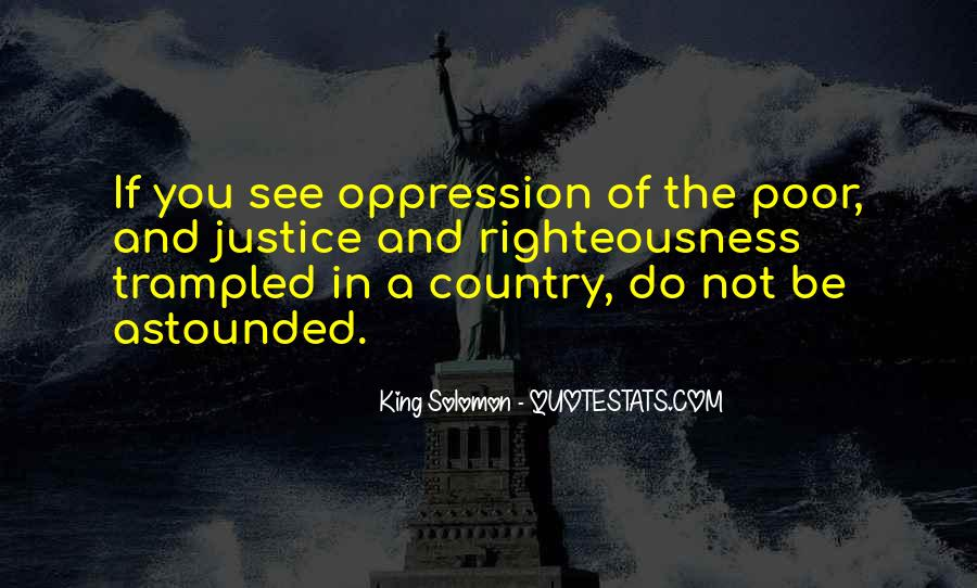 Quotes About The Oppression Of The Poor #441394