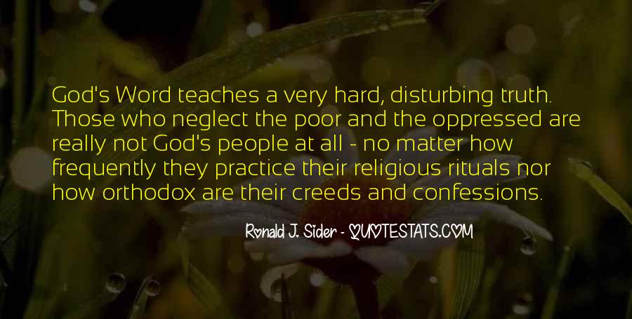 Quotes About The Oppression Of The Poor #73240