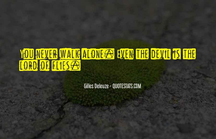 Walk Alone Quotes #101932