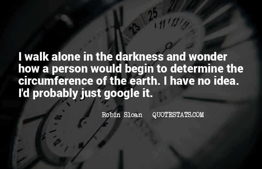 Walk Alone Quotes #306919