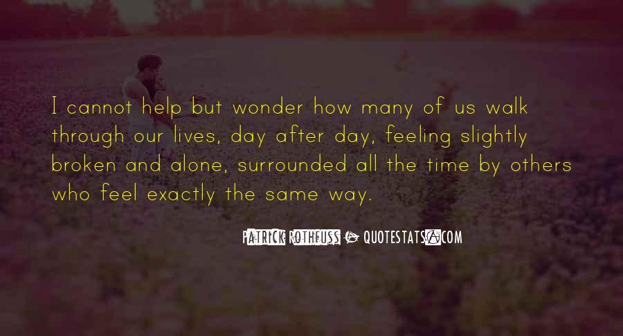 Walk Alone Quotes #463176