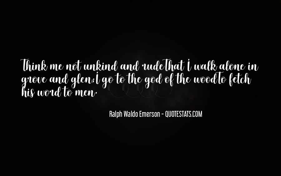Walk Alone Quotes #5173