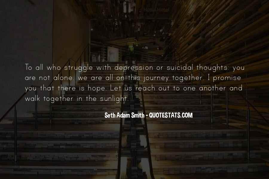 Walk Alone Quotes #748207