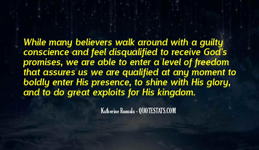 Walk Boldly Quotes #1410330