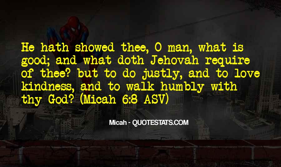 Walk Humbly Quotes #1178456