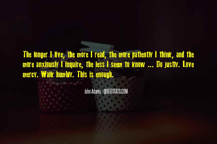 Walk Humbly Quotes #1263952