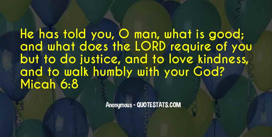 Walk Humbly Quotes #1678322